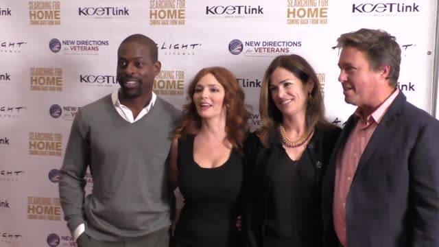 Army Wives Cast at The Cast Of Lifetime Television's Army Wives Reunites For Searching For Home Coming Back From War at Arclight Theatre in Sherman...
