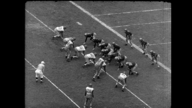 armypenn football game highlights on november 13 1948 in philadelphia pennsylvania - ncaa college football stock videos and b-roll footage