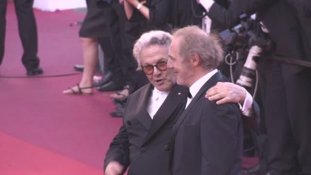 Arnaud Desplechin Geroge Miller at 'Julieta' Red Carpet on May 17 2016 in Cannes France