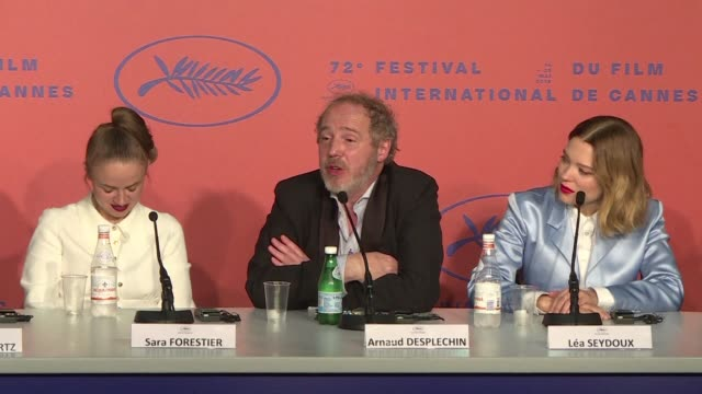 FRA: Cannes: Oh! Mercy press conference with Lea Seydoux