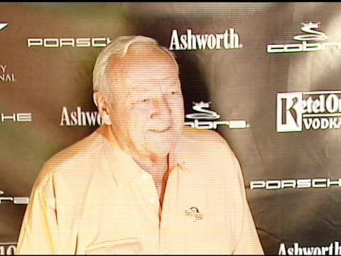 Arnold Palmer at the Golf Digest Celebrity Invitational at Cabana Club at the Wilshire Country Club in Los Angeles California on November 6 2006