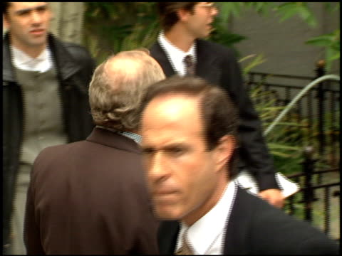 arnold rifkin at the dedication of bruce willis' footprints at grauman's chinese theatre in hollywood california on may 18 1995 - bruce willis stock videos and b-roll footage