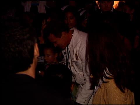 Arnold Schwarzenegger at the 2001 Dream Halloween at Barker Hanger in Santa Monica California on October 27 2001