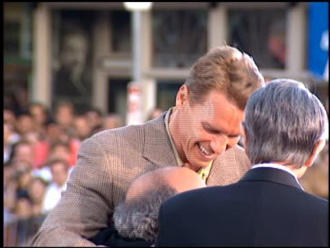 Arnold Schwarzenegger at the 'True Lies' Premiere on July 12 1994