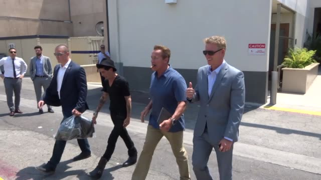 Arnold Schwarzenegger shopping in Beverly Hills in Celebrity Sightings in Los Angeles