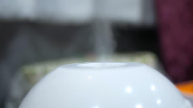 aroma oil steam