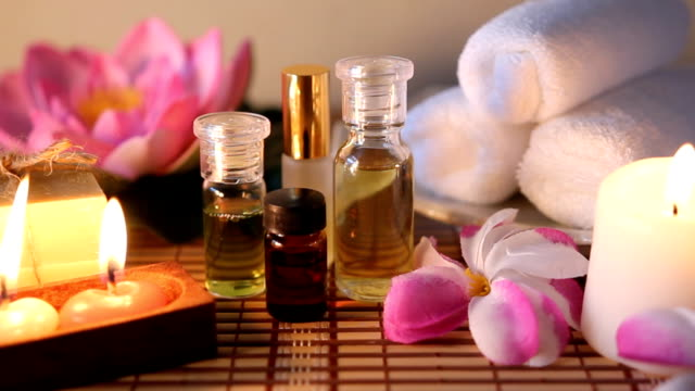 aromatherapy massage oil.