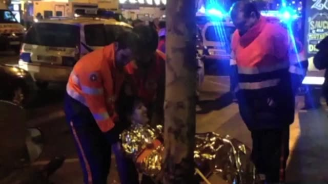 around 100 people were killed in an attack on the bataclan concert venue in paris according to police sources - terrorism stock videos & royalty-free footage