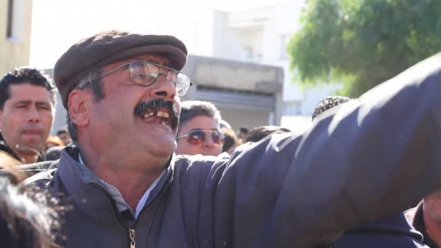 Around 1000 protesters massed outside the interior ministry on Habib Bourguiba Avenue epicentre of the 2011 uprising that ousted ex dictator Zine El...