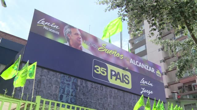 around 128 million ecuadorians will head to the polls on sunday to designate a successor to socialist president rafael correa who has been in power... - ecuadorian ethnicity stock videos & royalty-free footage