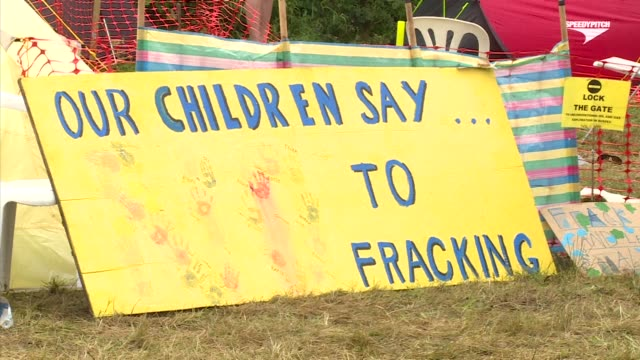 Around 200 campaigners demonstrated for a second day in southern England against planned test drilling by British firm Cuadrilla which specialises in...