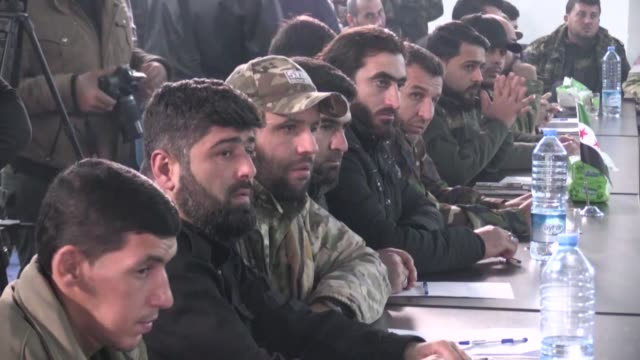 "Around 30 subgroups of the Free Syrian Army have unified under the banner of the country's ""National Army"" the Syrian interim government announced..."