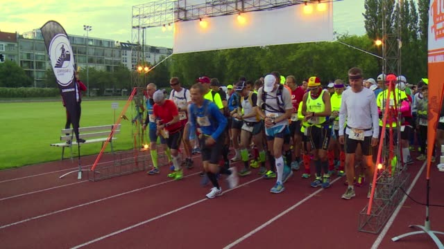 Around 300 runners left the starting gate Saturday for an ultramarathon tracing the route of the Berlin Wall marking 25 years since the Cold War...
