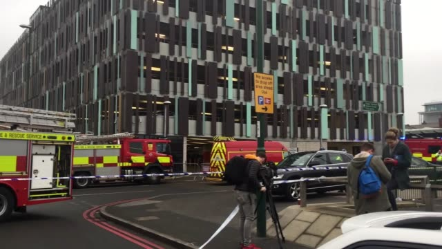 Around 60 firefighters are tackling a huge blaze in the new section of Nottingham station The fire broke out in the main concourse and spread to the...