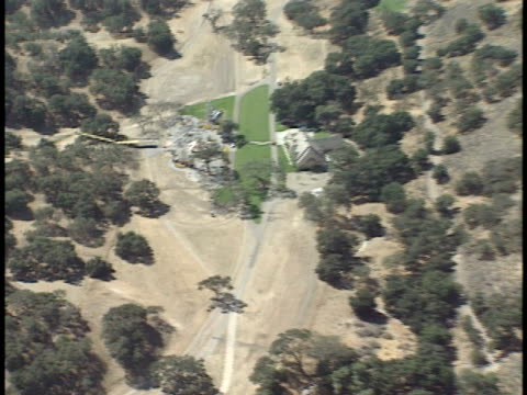 around michael jackson's neverland ranch amusement park area, carousal. ca - 1993 stock videos & royalty-free footage