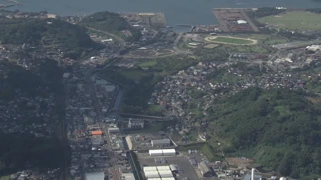 AERIAL, Around Minamata City, Kumamoto, Japan