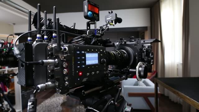 arri camera manufacturing in munich, germany on wednesday, june 20, 2018. - 映画用カメラ点の映像素材/bロール