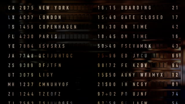 arrival departure board - leaving stock videos & royalty-free footage