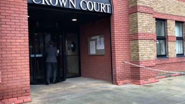 arrivals at st albans crown court for the trial of ian stewart who is accused of murdering his fiance helen bailey jamie stewart son of ian stewart... - fiancé stock videos and b-roll footage