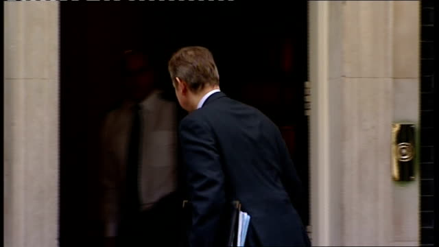 Arrivals for Cabinet meeting at No10 ENGLAND London Downing Street No10 EXT Nick Clegg MP and Vince Cable MP arrive Ken Clarke MP arriving Eric...