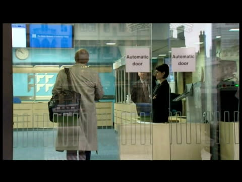 arrivals of sir roderic lyne, sir lawrence freedman, baroness usha prashar of runnymede, edward chaplin and sir john chilcot to the iraq inquiry - baroness stock videos & royalty-free footage