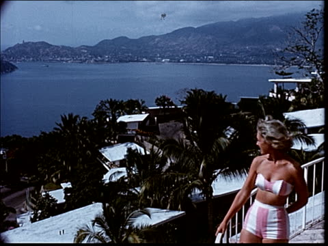 stockvideo's en b-roll-footage met 1963 arriving in acapulco - 1963