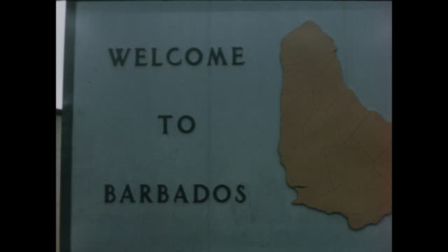 1957 arriving in barbados by ship - home movie - 1957 stock videos & royalty-free footage
