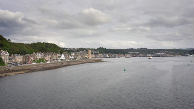 arriving in oban, scotland - scottish culture stock videos & royalty-free footage