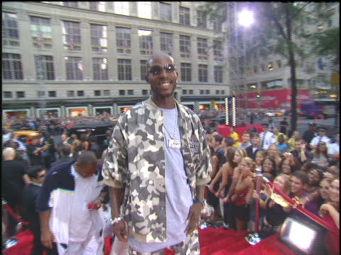 dmx arriving to the 2003 mtv video music awards red carpet - 2003年点の映像素材/bロール