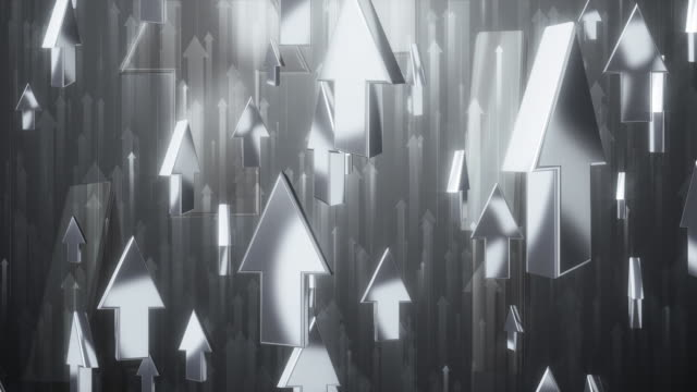 vídeos de stock, filmes e b-roll de setas para silver - imagem tonalizada