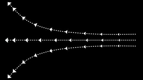 vidéos et rushes de flèches - montrer la voie