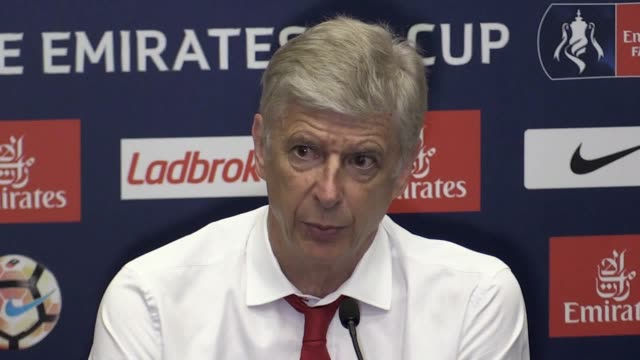 Arsene Wenger speaks to the press following victory in the FA Cup He talks about his pride in winning his future at the club and his admiration for...