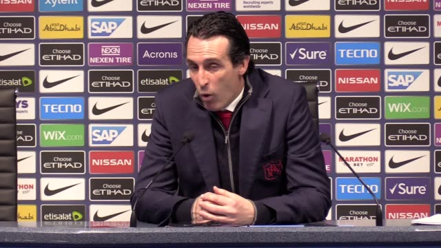 Arsenal manager Unai Emery admits that his side were beaten by the better team as they lost 31 to Man City But the former PSG boss believed his young...