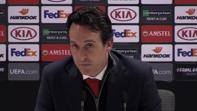 Arsenal manager Unai Emery previews his side's clash with Southampton this weekend