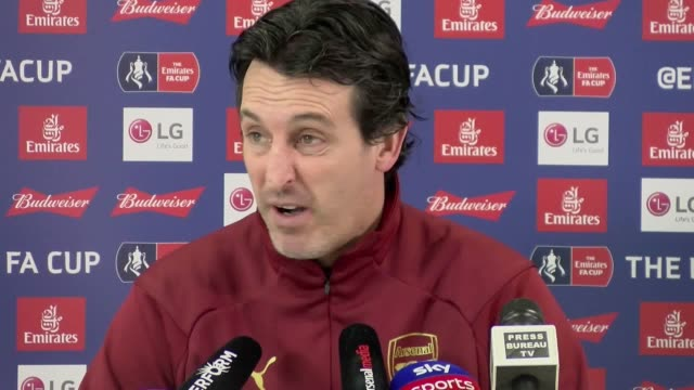 Arsenal manager Unai Emery previews his side's FA Cup fourth round tie against Manchester United