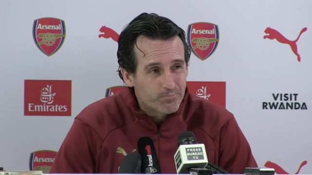 Arsenal manager Unai Emery previews the Premier League match against Huddersfield