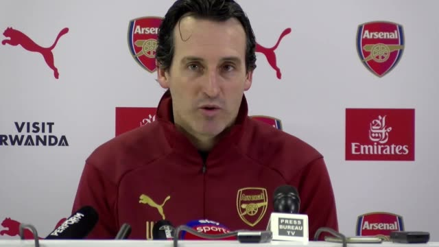 Arsenal manager Unai Emery says he enjoys playing against the best teams and hopes his side will show their quality in their match against Premier...