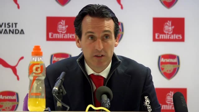 Arsenal manager Unai Emery's postmatch press conference following their 51 defeat over Bournemouth