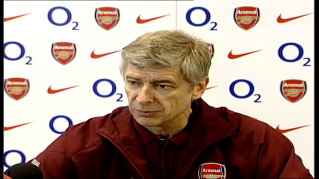 London Colney INT Arsene Wenger press conference SOT believe he has same ingredients at same age to be good prospect for England