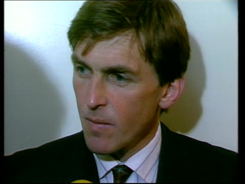 Arsenal win the League Championship eNAT Liverpool Intvw Kenny Dalglish Liverpool manager