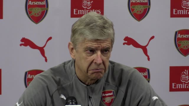 Arsene Wenger press conference for their Premier League game with Watford