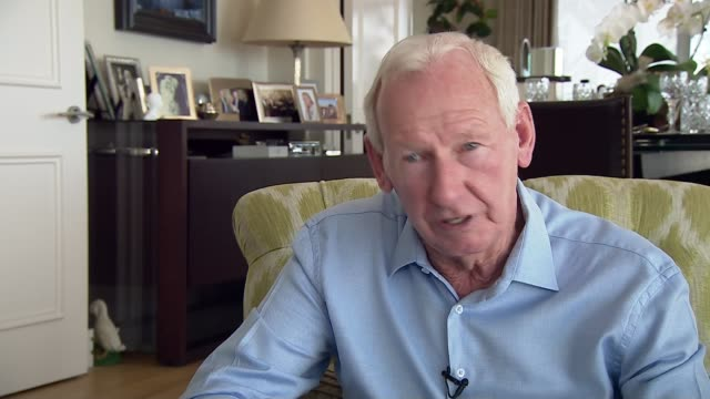 Arsene Wenger to leave Arsenal at end of season Location unknown INT Bob Wilson interview SOT