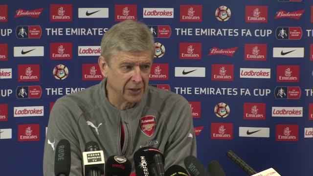Arsene Wenger under pressure at Arsenal ENGLAND Hertfordshire London Colney INT Arsene Wenger interview SOT