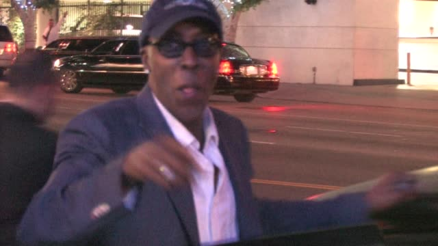 arsenio hall at nokia live at the celebrity sightings in los angeles at los angeles ca. - arsenio hall stock videos & royalty-free footage
