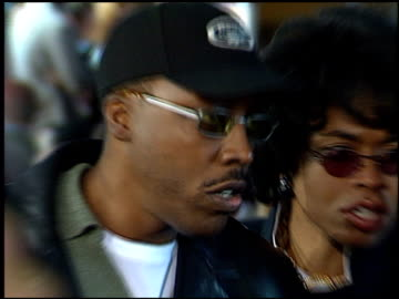 arsenio hall at the 'life' premiere at the mann village theatre in westwood, california on april 14, 1999. - arsenio hall stock videos & royalty-free footage
