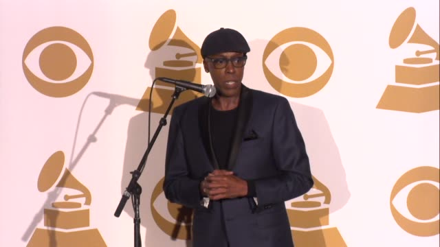arsenio hall on the awards at the grammy nominations concert live!! - countdown to music's biggest night on 12/6/2013 in los angeles, ca. - arsenio hall stock videos & royalty-free footage