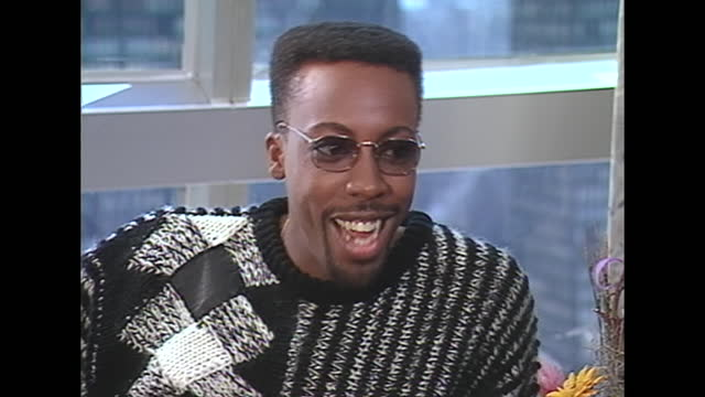 we, um, we discussed it because one of my reasons for not working with my friend for a long time was i saw a rather nasty incident that he went... - arsenio hall stock videos & royalty-free footage