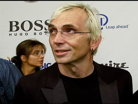 art alexakis of everclear on vh1 save the music on why it's important at the vh1's big night for a big cause a benefit for the vh1 save the music... - vh1 stock-videos und b-roll-filmmaterial