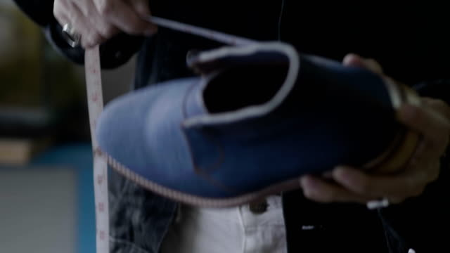 art and craft : shoe designers working at the factory - individuality stock videos & royalty-free footage