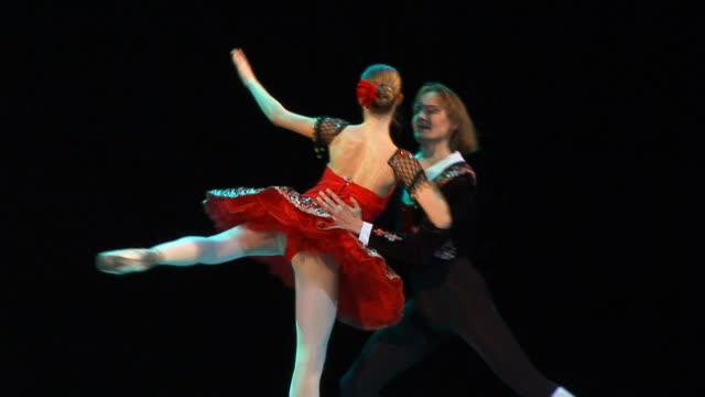 art ballet - ballet performance stock videos & royalty-free footage